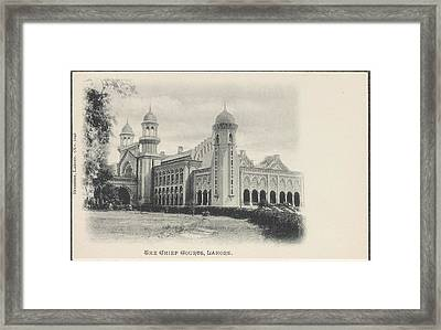The Chief Courts Framed Print