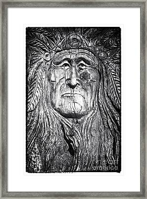 The Chief Framed Print by John Rizzuto