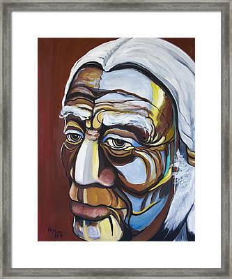 The Chief Framed Print