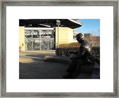 The Chief Framed Print by Spencer McKain