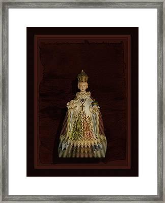 The Child Of Prague Framed Print