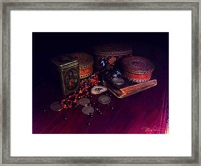 The Child With The Ark Framed Print by Ciprian Alexandrescu