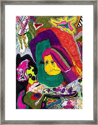 The Child Within Framed Print by Christine Perry