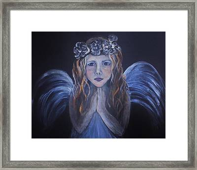 The Child Within Framed Print by The Art With A Heart By Charlotte Phillips
