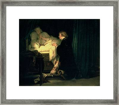 The Children Of King Edward Iv Of England, 1852 Framed Print by Hippolyte Delaroche
