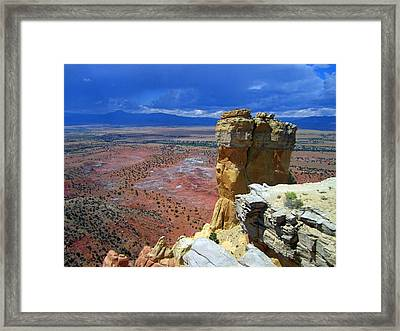 The Chimney God Framed Print
