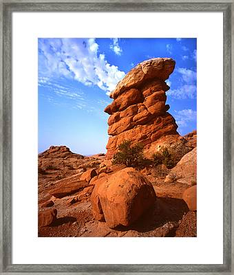 The Chimney Framed Print by Ray Mathis