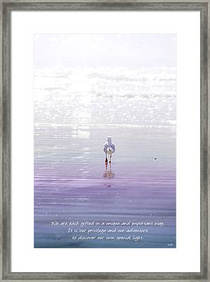 The Chosen One Framed Print by Holly Kempe