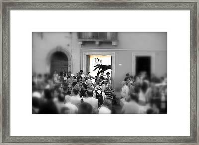 The Chosen One Framed Print