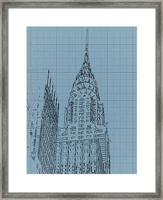 The Chrysler Building Framed Print by Dan Sproul