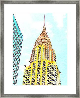 The Chrysler Building Framed Print by Ed Weidman