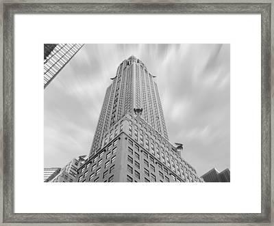 The Chrysler Building Framed Print by Mike McGlothlen