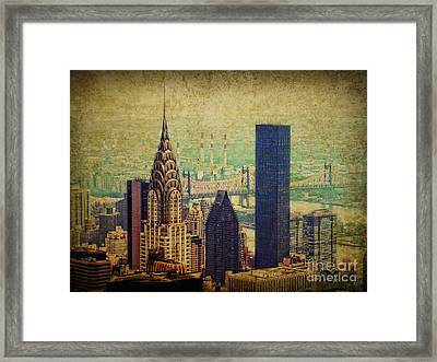 The Chrysler Framed Print by Nishanth Gopinathan