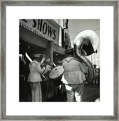 The Chubby Circus Band Framed Print