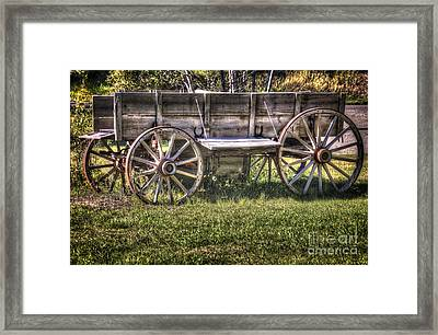 The Chuck Wagon Framed Print by Bob Hislop