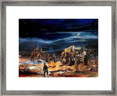 The Chuck Wagon Framed Print by Patrick Rahming