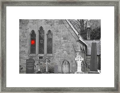 Framed Print featuring the photograph The Church 2 by Christopher Rowlands