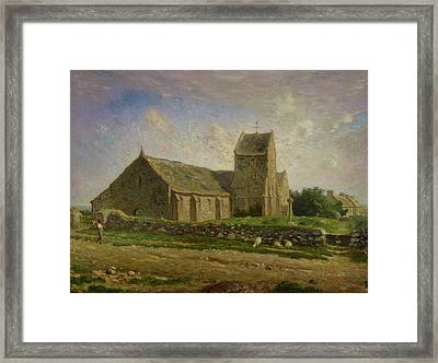 The Church At Greville Framed Print