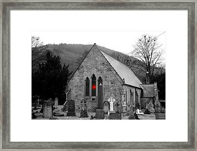 Framed Print featuring the photograph The Church by Christopher Rowlands