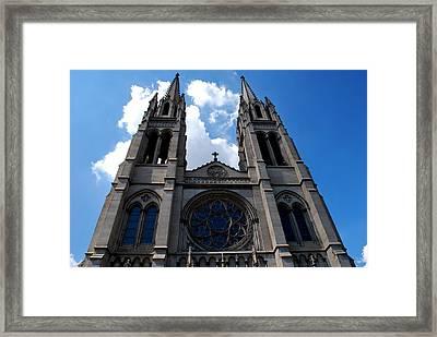 The Church Framed Print by Matt Harang