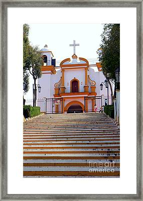 The Church Of Guadalupe 1 Framed Print