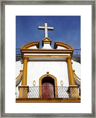 The Church Of Guadalupe 3 Framed Print