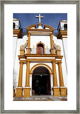The Church Of Guagalupe 2 Framed Print
