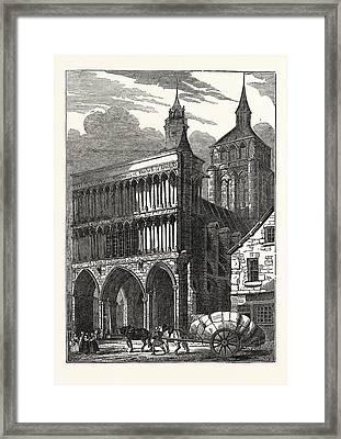 The Church Of Notre Dame At Dijon Framed Print