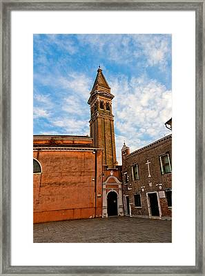 The Church Of Saint Martin Framed Print by Peter Tellone