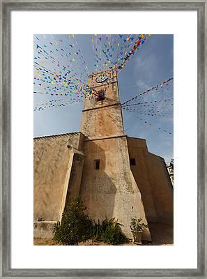 The Church Of Santa Maria Framed Print by Paul Indigo