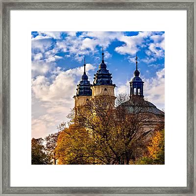 The Church Of St. Louis  Framed Print by Tomasz Dziubinski