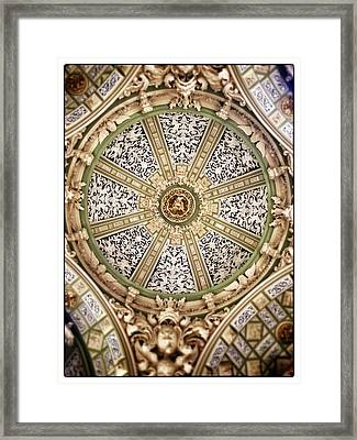 The Church San Juan Del Hospital Of The Orden Opus Dei In Valencia. Framed Print by For Ninety One Days