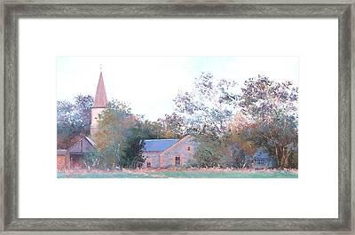 The Church Spire Framed Print