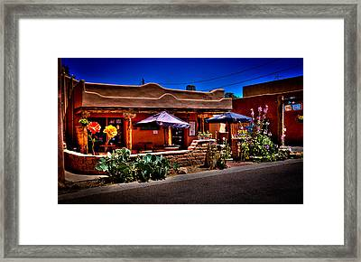 The Church Street Cafe - Albuquerque New Mexico Framed Print by David Patterson
