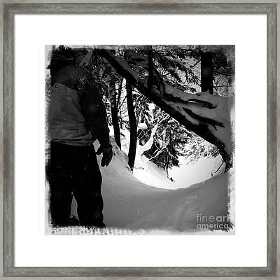 The Chute Framed Print by James Aiken