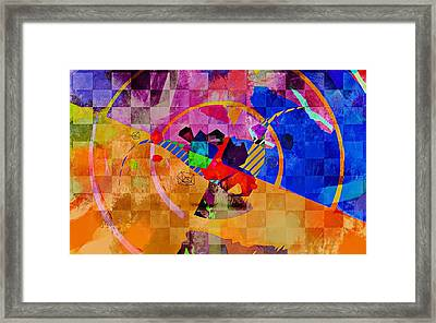 Framed Print featuring the photograph The Circle Game by Allen Beilschmidt
