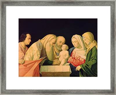 The Circumcision  Framed Print