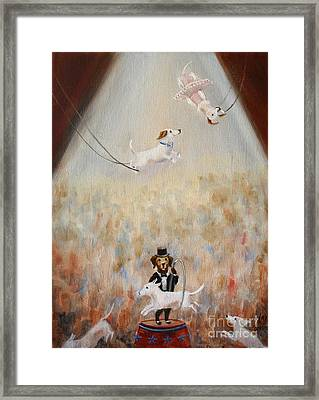 The Circus Framed Print by Stella Violano