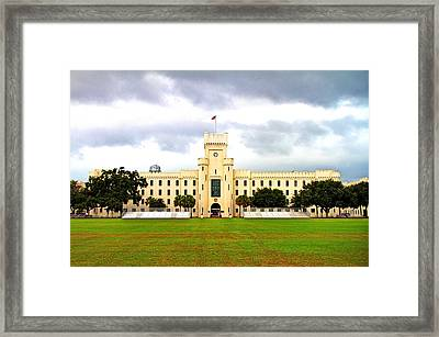 The Citadel Framed Print by David Kennedy
