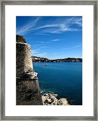 The Citadel Framed Print by Stephanie Tomlinson