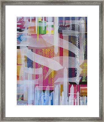 The City Arises Framed Print