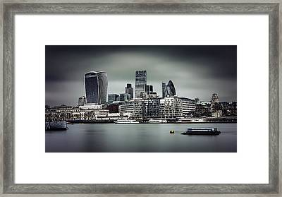 The City Of London Framed Print by Ian Good