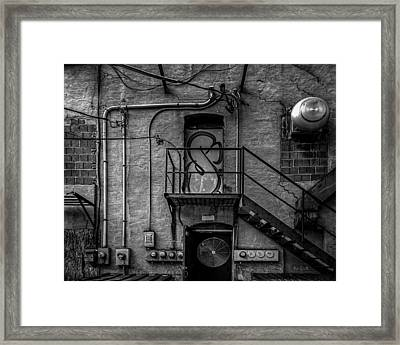 The City Is A Poem  Framed Print by Bob Orsillo
