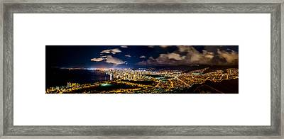 The City Of Aloha Framed Print
