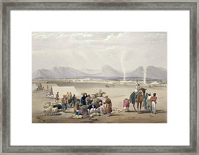 The City Of Candahar, From Sketches Framed Print by James Atkinson