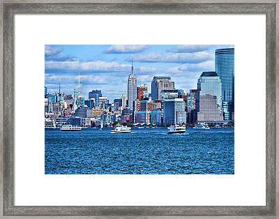 The City Of Dreams Framed Print by Dan Sproul