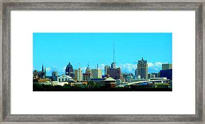 The City Of Festivals Framed Print