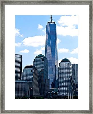 The City Of Mirrors  Framed Print by Ira Shander