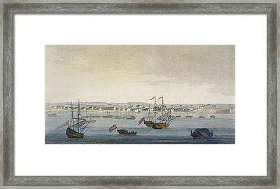 The City Of Paramaribo Framed Print by Paolo Fumagalli
