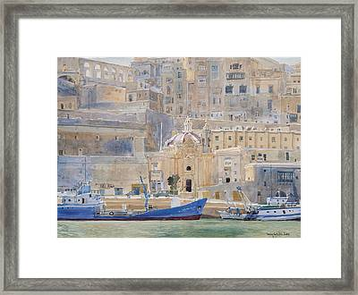 The City Of Stone Framed Print by Lucy Willis